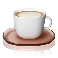 LUME CAPPUCCINO CUP x 2