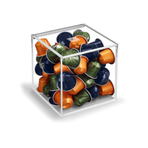 VIEW CUBE (SUPPLIED WITHOUT CAPSULES)